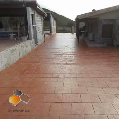 Fotos hormigon impreso fotos pavimentos impresos pavipulido - Hormigon impreso en madrid ...