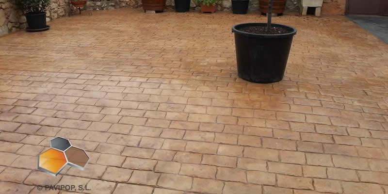 Fotos hormigon impreso fotos pavimentos impresos pavipulido for Hormigon impreso suelo