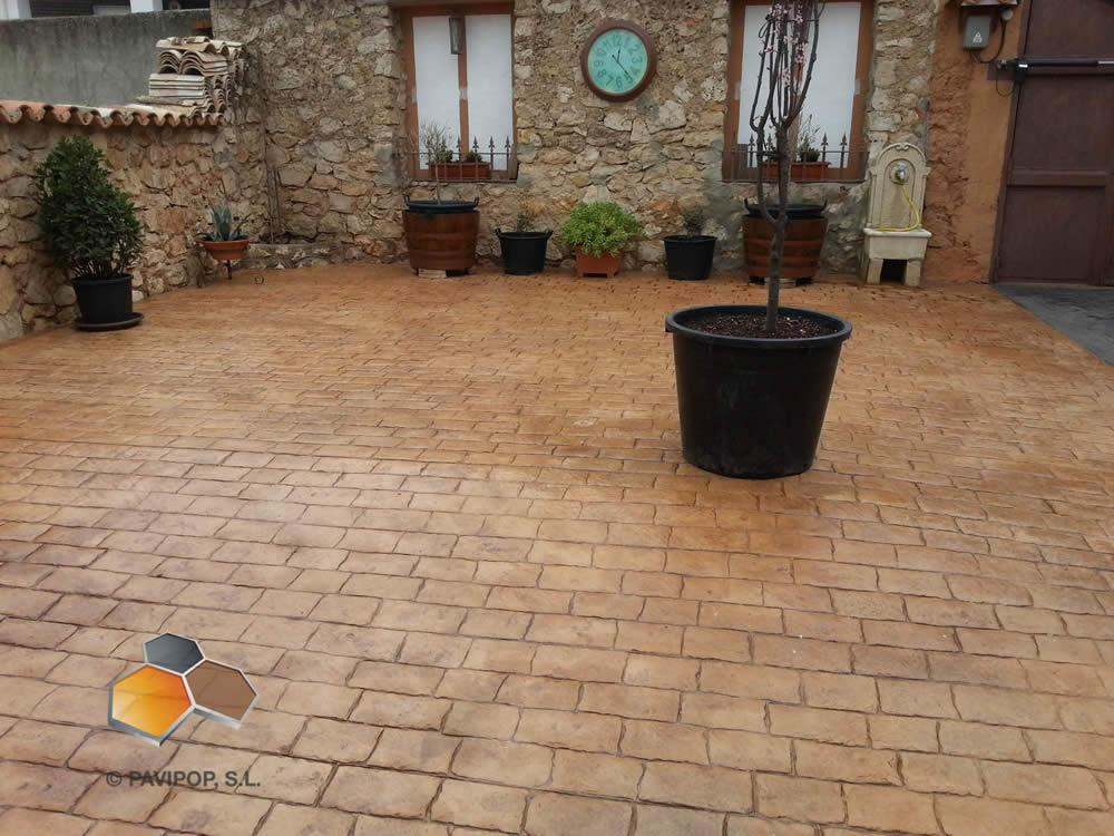 Fotos hormigon impreso fotos pavimentos impresos pavipulido for Pavimentos de hormigon